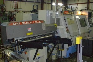 MAZAK CNC Metal Machining quick load