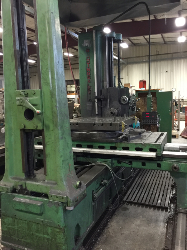 G&L HORIZONTAL MACHINE (BORING MILL)