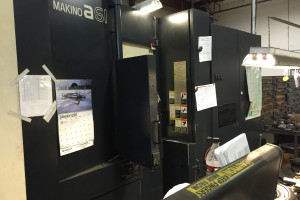 MAKINO a61 HORIZONTAL CNC Metal Milling Machine