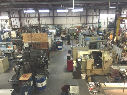 seubert machining shop overview