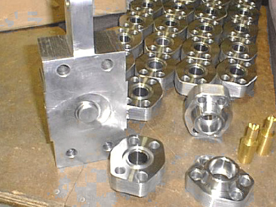 small custom machined parts
